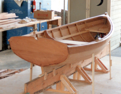Plans For Building The Sea Urchin Wooden Boat