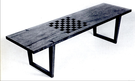 Plans for a Chessboard Coffee Table SIMON WATTS WOODWORKING